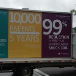 Photo of Durata promotional truck at HRS courtesy of Dr. Wes